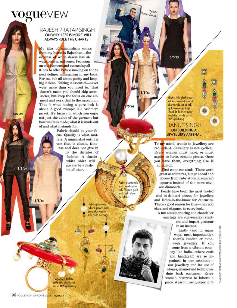 Vogue, June 2013