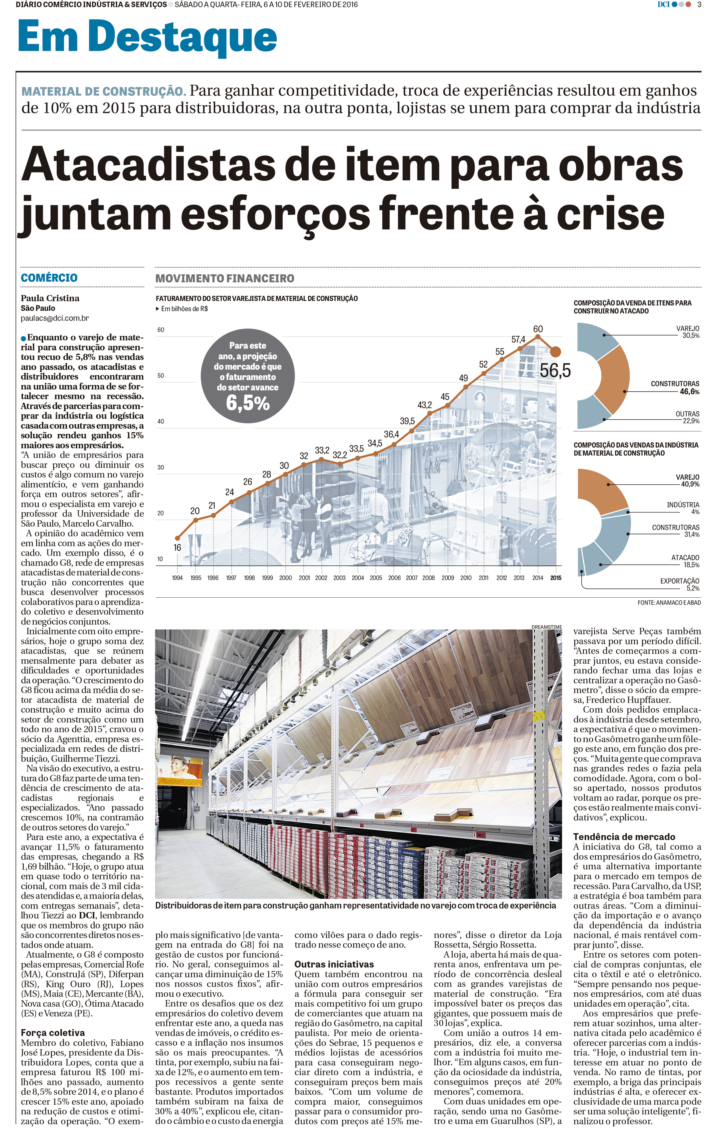 Jornal Impresso - DCI - 10/02/2016