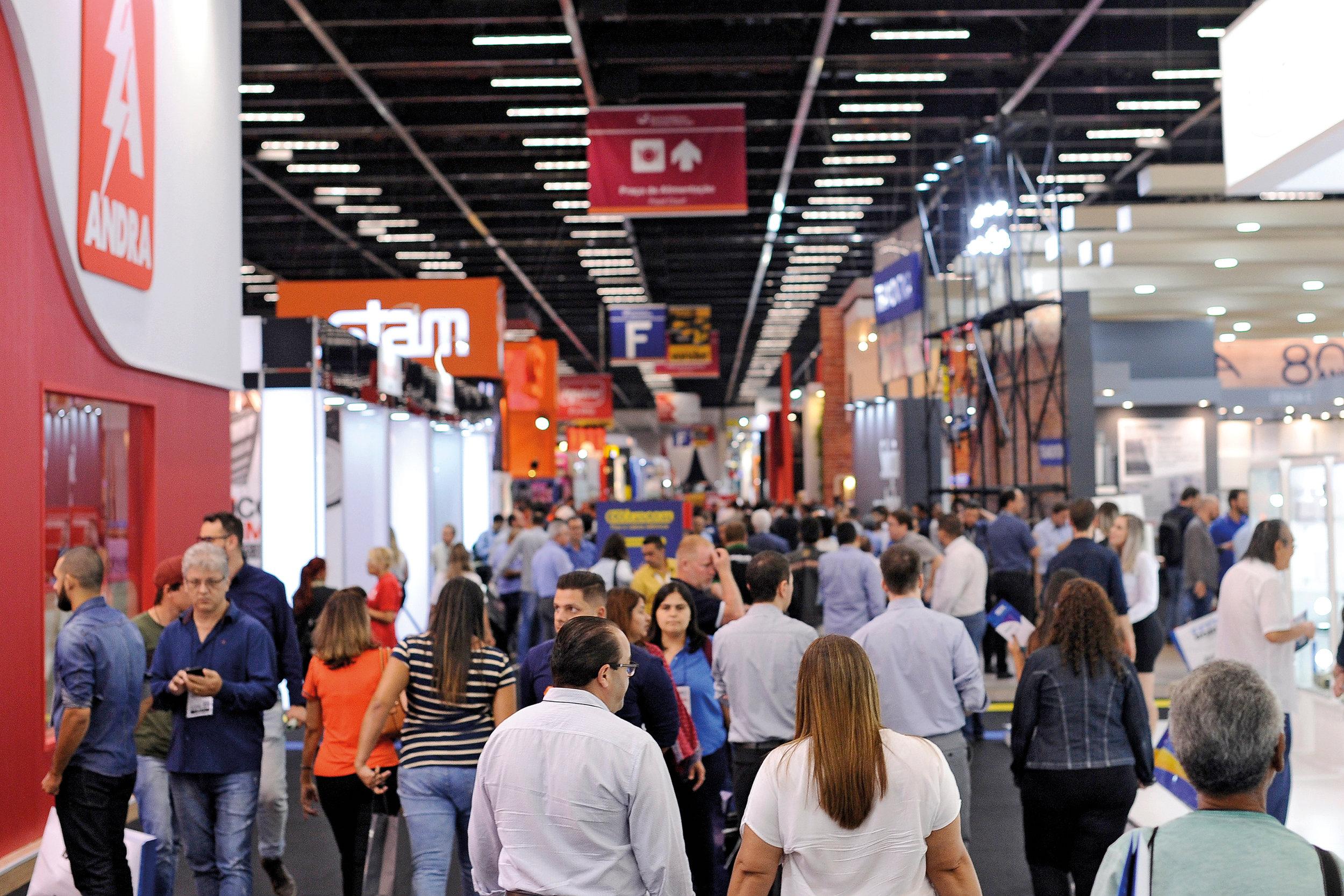 A Feicon Batimat 2019 acontece de 9 a 12 de abril no São Paulo Expo (Foto: Arquivo/Revista Anamaco)