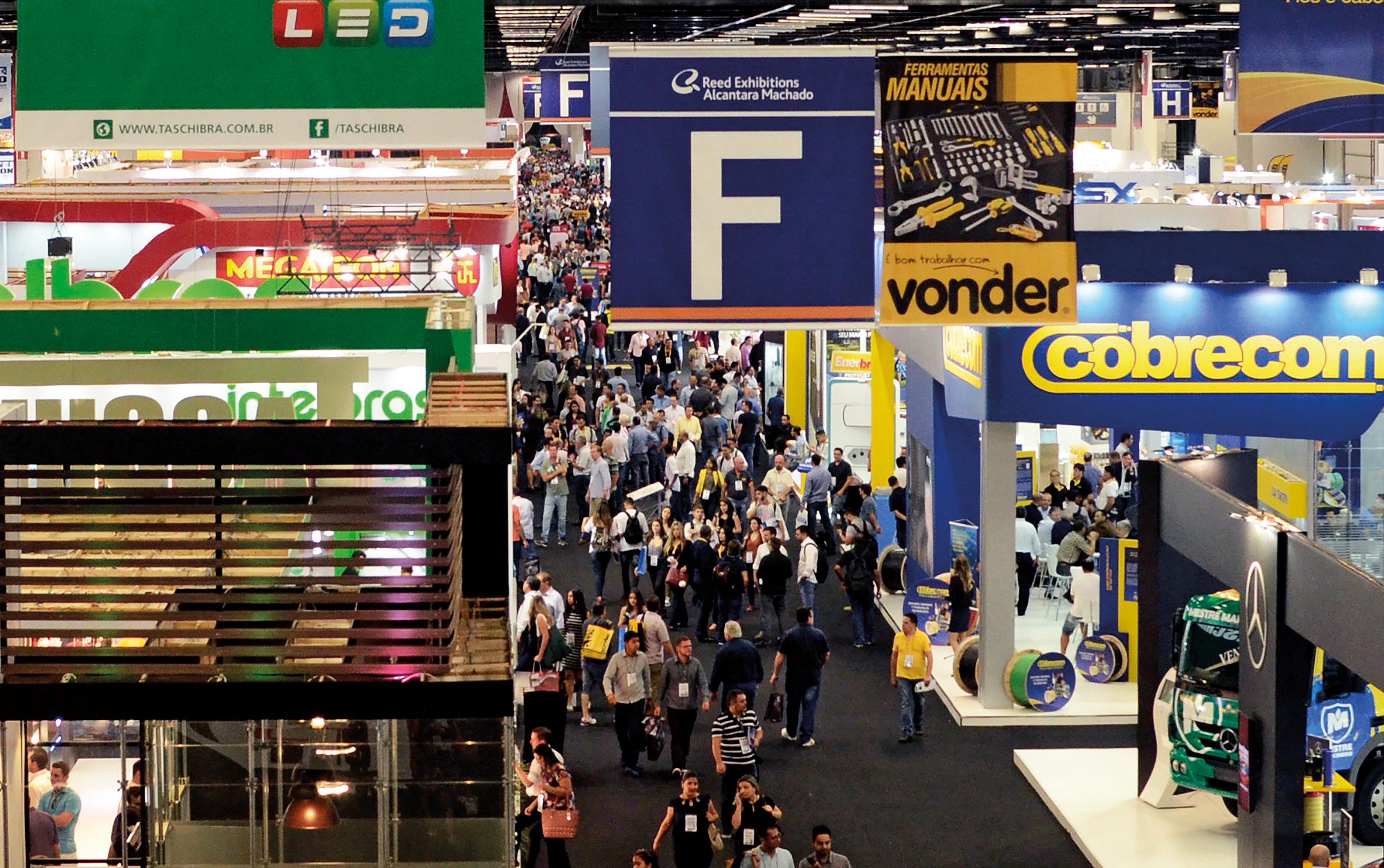 O evento, que é a maior convenção do setor de construção e arquitetura na América Latina, reunirá fabricantes, distribuidores, atacadistas e lojistas (Foto: Arquivo/Revista Anamaco)