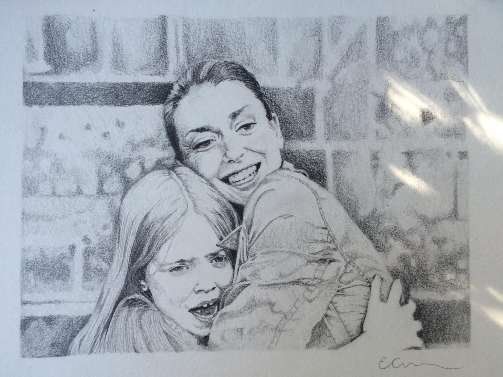The finished illustration....
