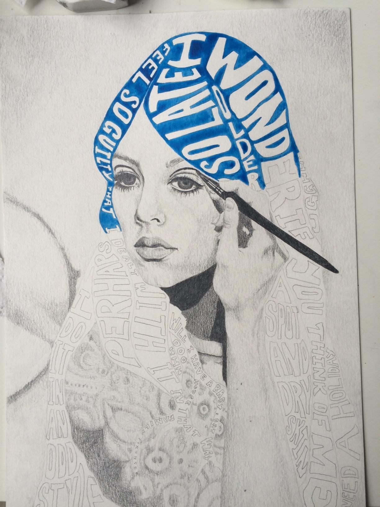 Watercolouring....