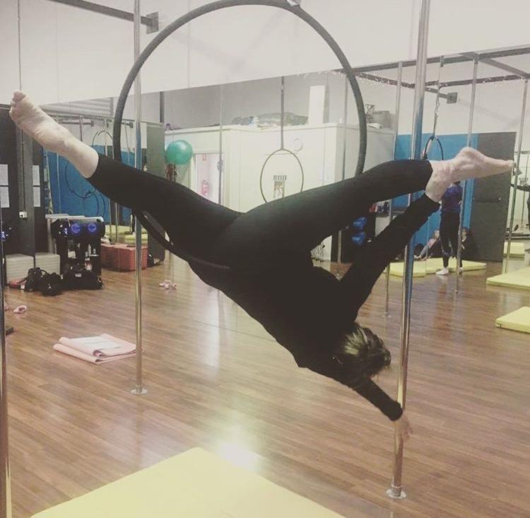 Aerial hoop life!