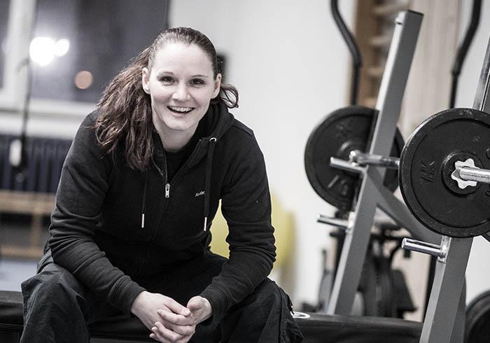 Marina ist Trainer für Kali & kümmert sich um die Frauen-SV Kurse