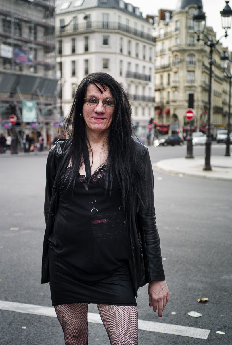 sex worker protests in Paris