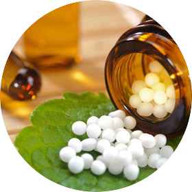 HOMEOPATHY - Homeopathy is a safe and non-toxic energetic subset of naturopathic medicine, where very small amounts of plant, mineral or animal substances are diluted into a pellet form to stimulate the body's natural healing mechanisms. Homeopathy is based on the law of similars - treating like with like - matching a person's disease state with a remedy in order to stimulate the body's own defensive attempt to correct its imbalance.