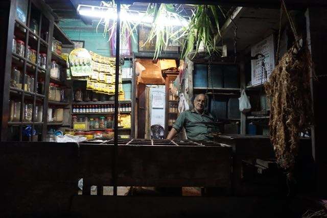 a traditional ayurvedic pharmacy, kochin