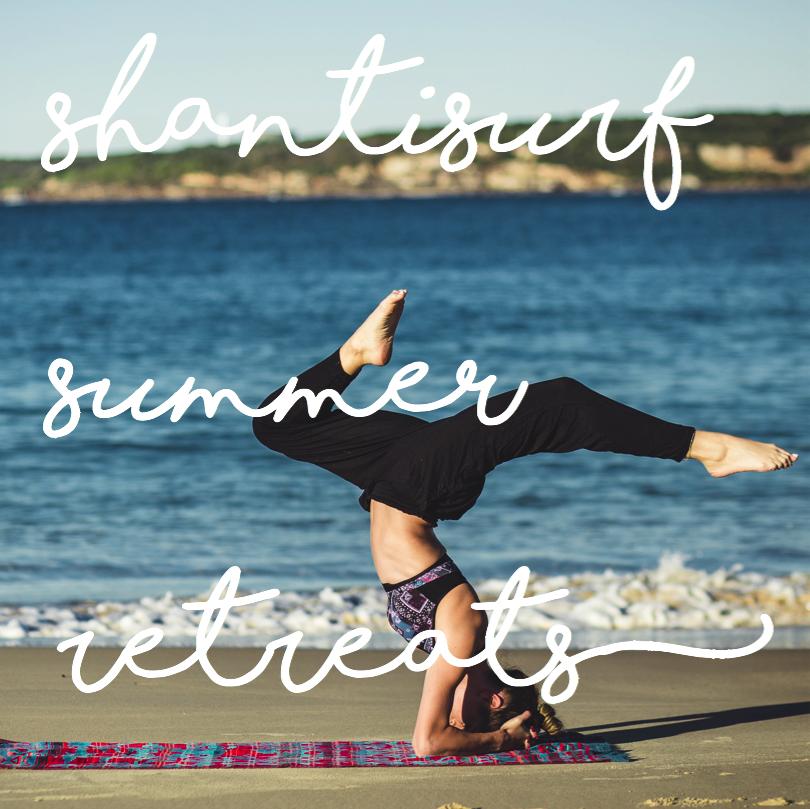 yoga + surf retreats in edinburgh summer timetable
