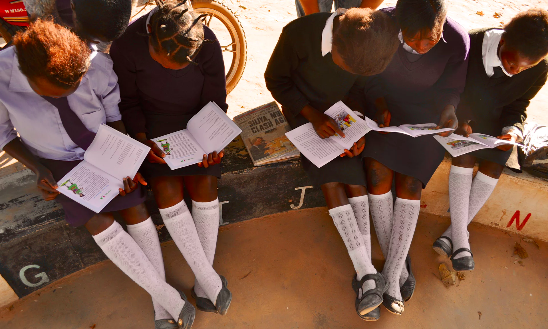Study circles and wellbeing sessions delivered by learner guides build strong relationships, trust and empathy, and are critical to keeping girls engaged in their education. Photograph: Camfed