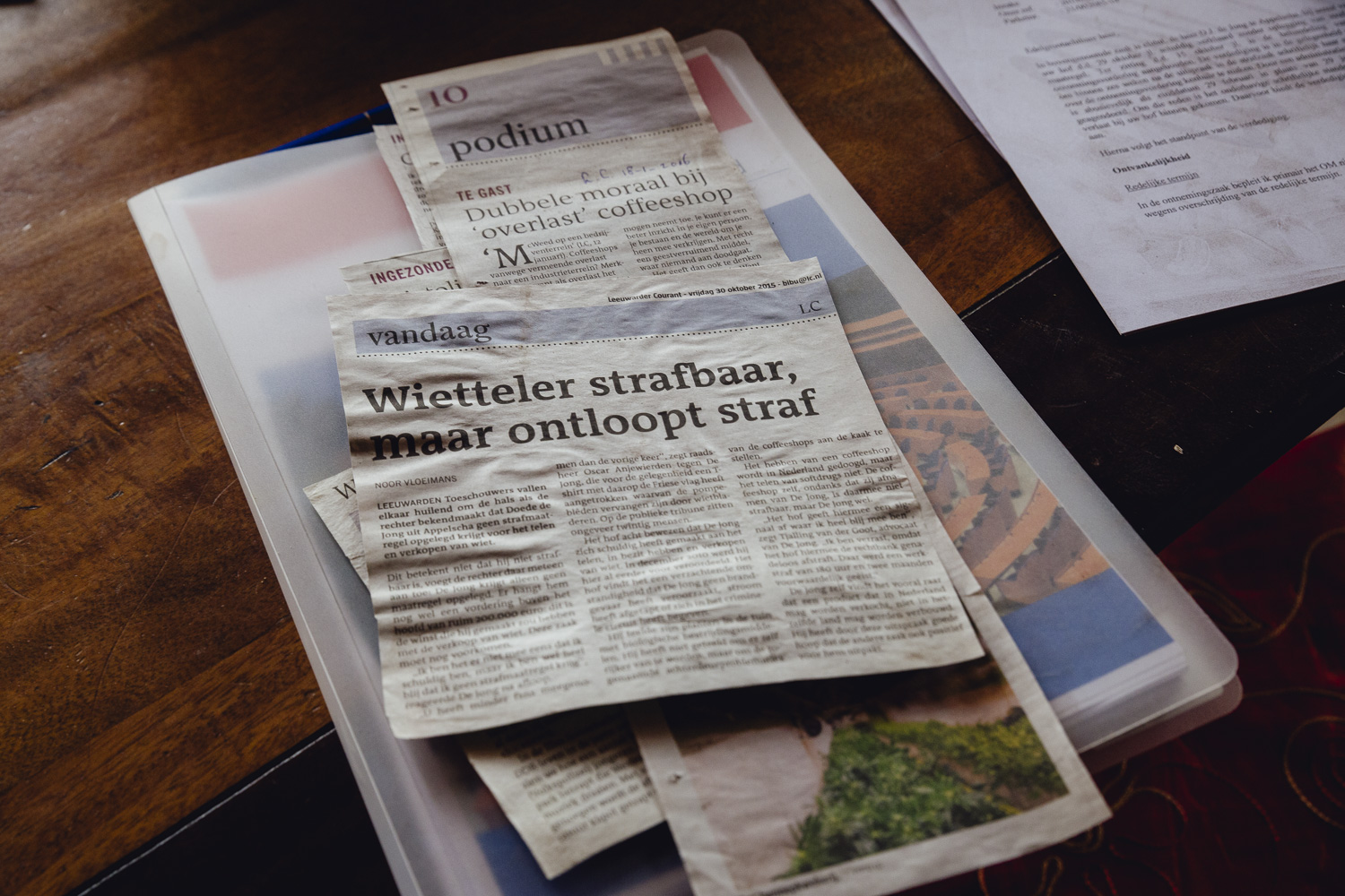 Doede has made the headlines of Dutch local and national news many times