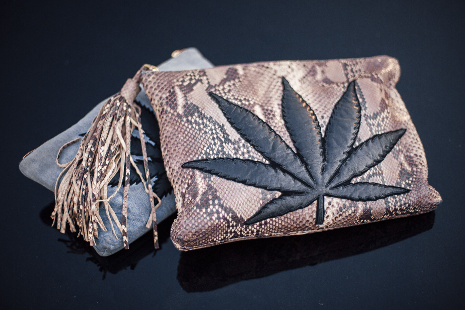 Nowadays Bianca wears cannabis in every possible way.