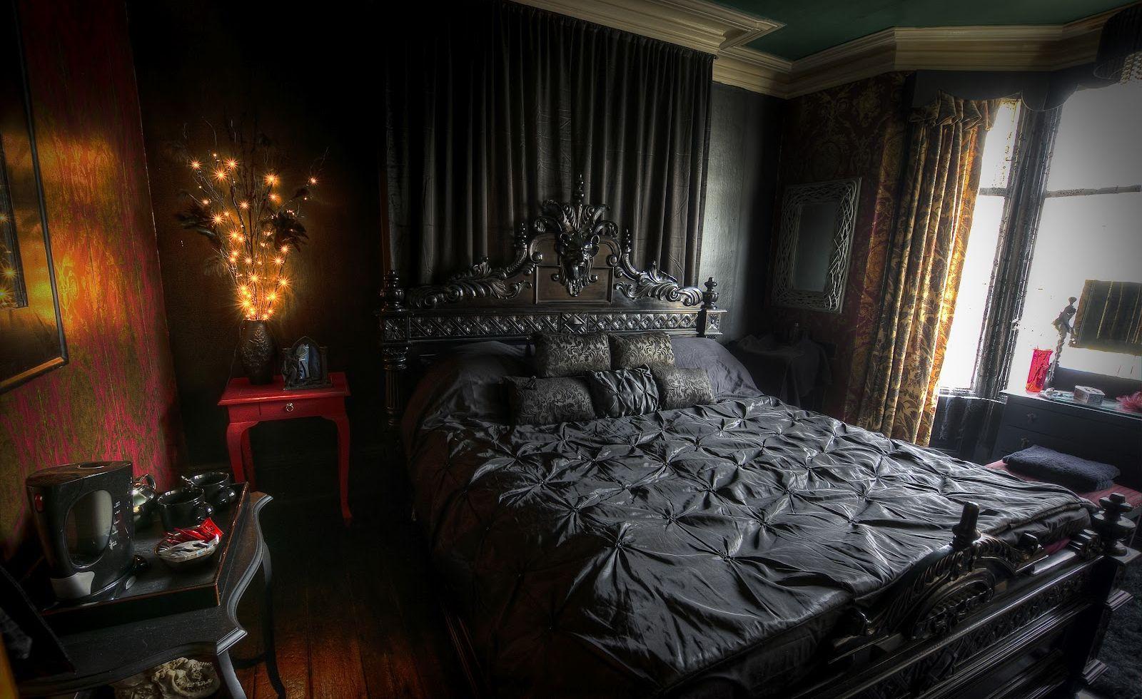 Gothic Master Bedroom