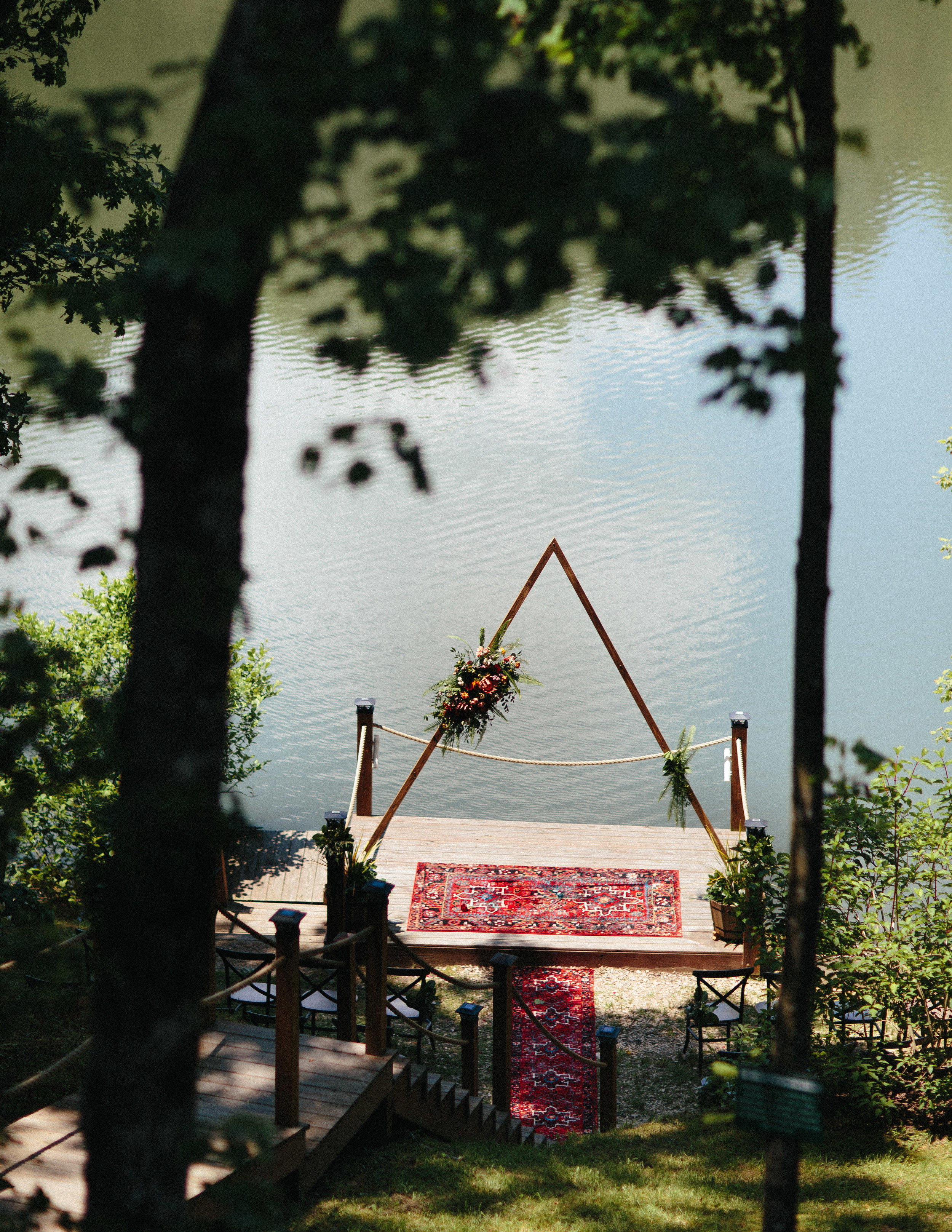ellijay_cabin_intimate_wedding_georgia_geometric_altar_bridal_cape_diy_1303.jpg