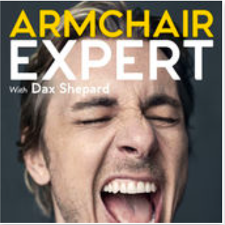 "Funny, intriguing, and informative. Not Punk'd....  ""I'm Dax Shepard, and I love talking to people. I am endlessly fascinated by the messiness of being human, and I find people who are vulnerable and honest about their struggles and shortcomings to be incredibly sexy. I invite you to join me as I explore other people's stories. We will celebrate, above all, the challenges and setbacks that ultimately lead to growth and betterment. What qualifies me for such an endeavor? More than a decade of sobriety, a degree in Anthropology and four years of improv training. I will attempt to discover human ""truths"" without any laboratory work, clinical trials or data collection. I will be, in the great tradition of 16th-century scientists, an Armchair Expert."""