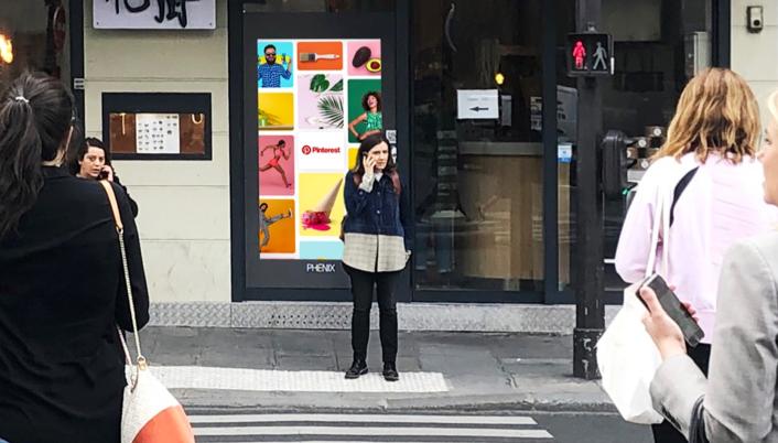 Story Pinterest, rue de Châteaudun, Paris 9ème
