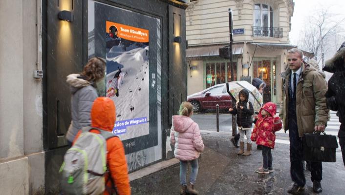 Story Soul Flyers, avenue Mozart, Paris 16ème
