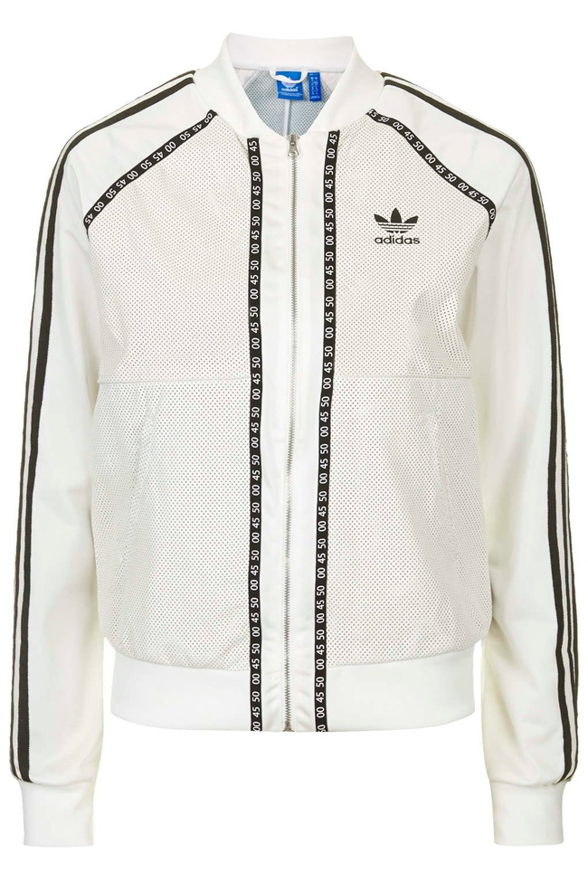 Premium Superstar Track Jacket by Topshop for adidas Originals   available for $270.00
