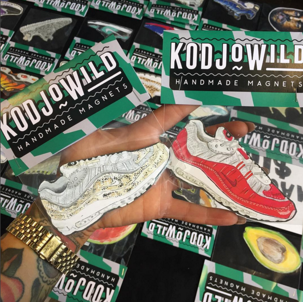 Nike's latest collab with Supreme made the Kodjo magnet cut.