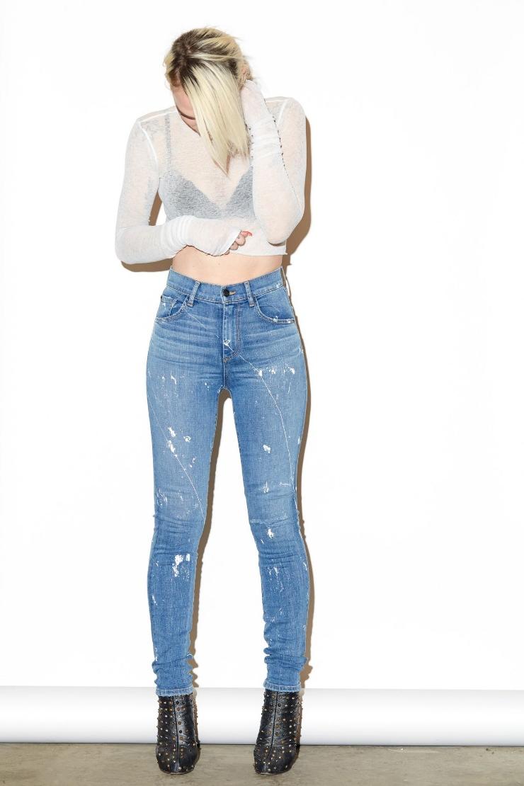 SneakHER Style: Bella Hadid's Maje Bacary Satin Jacket and