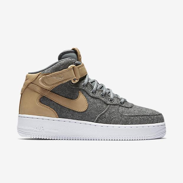 Image: Nike (Nike Air Force 1 Mid/ Cool Grey)