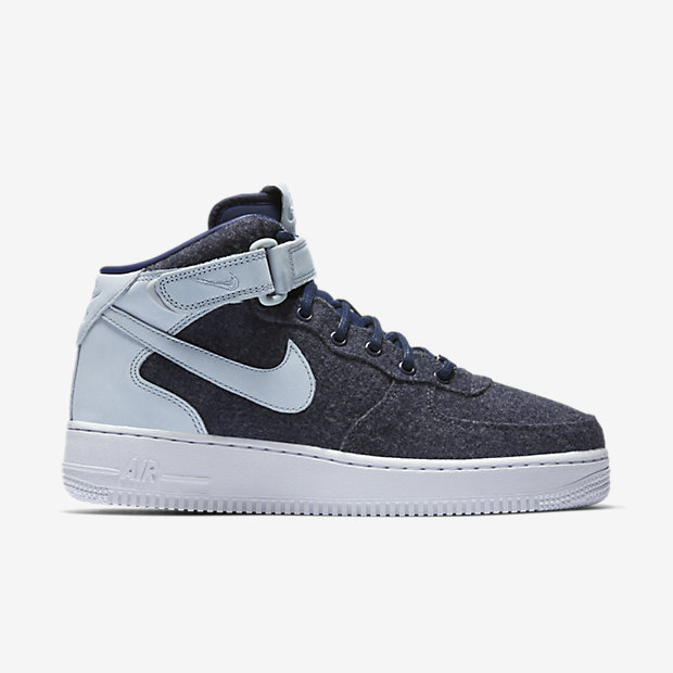 Nike Air Force 1 Mid/ Midnight Navy