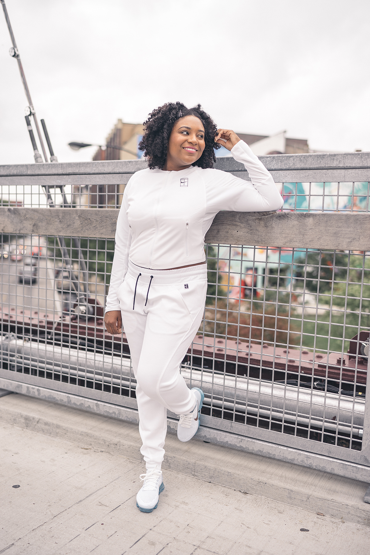 best loved 2b798 20f7a Sneaker Diary: All White On The 606 — CNK Daily (ChicksNKicks)