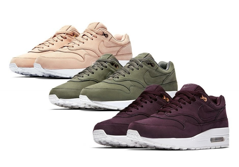 Ladies Get Ready For These Fall-Ready Nike Air Max 1 Premiums ...