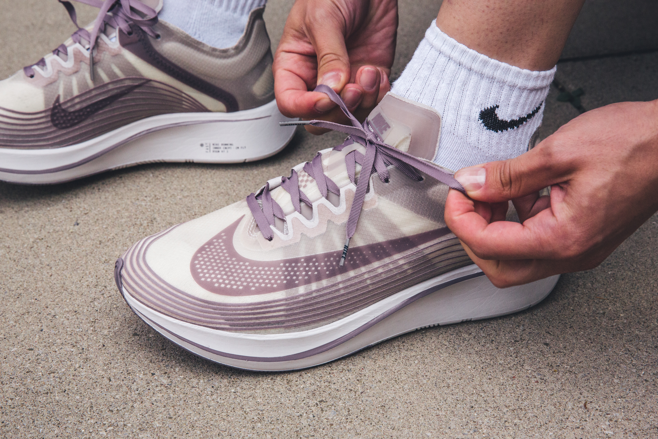 Run The Town In The NikeLab Zoom Fly SP