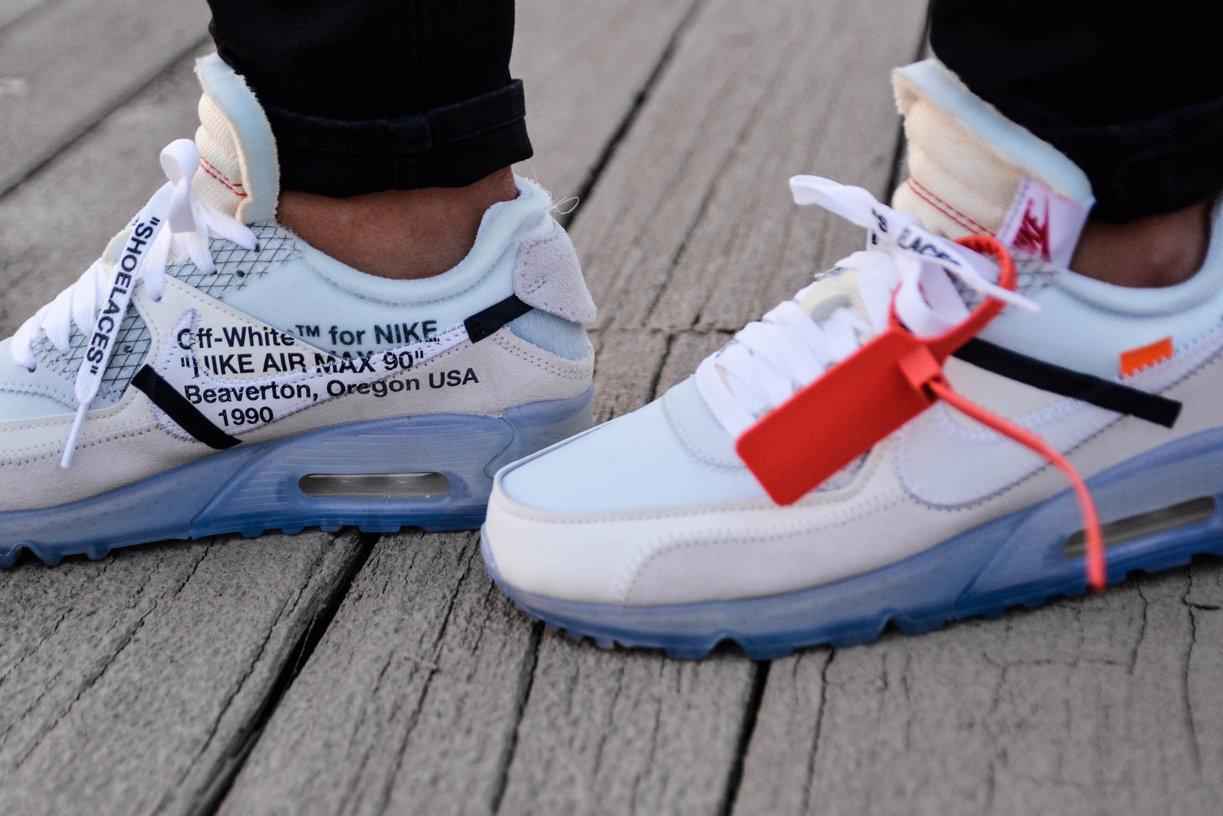 Sneaker Diary Nike X Off White Air Max 90 Cnk Daily Chicksnkicks