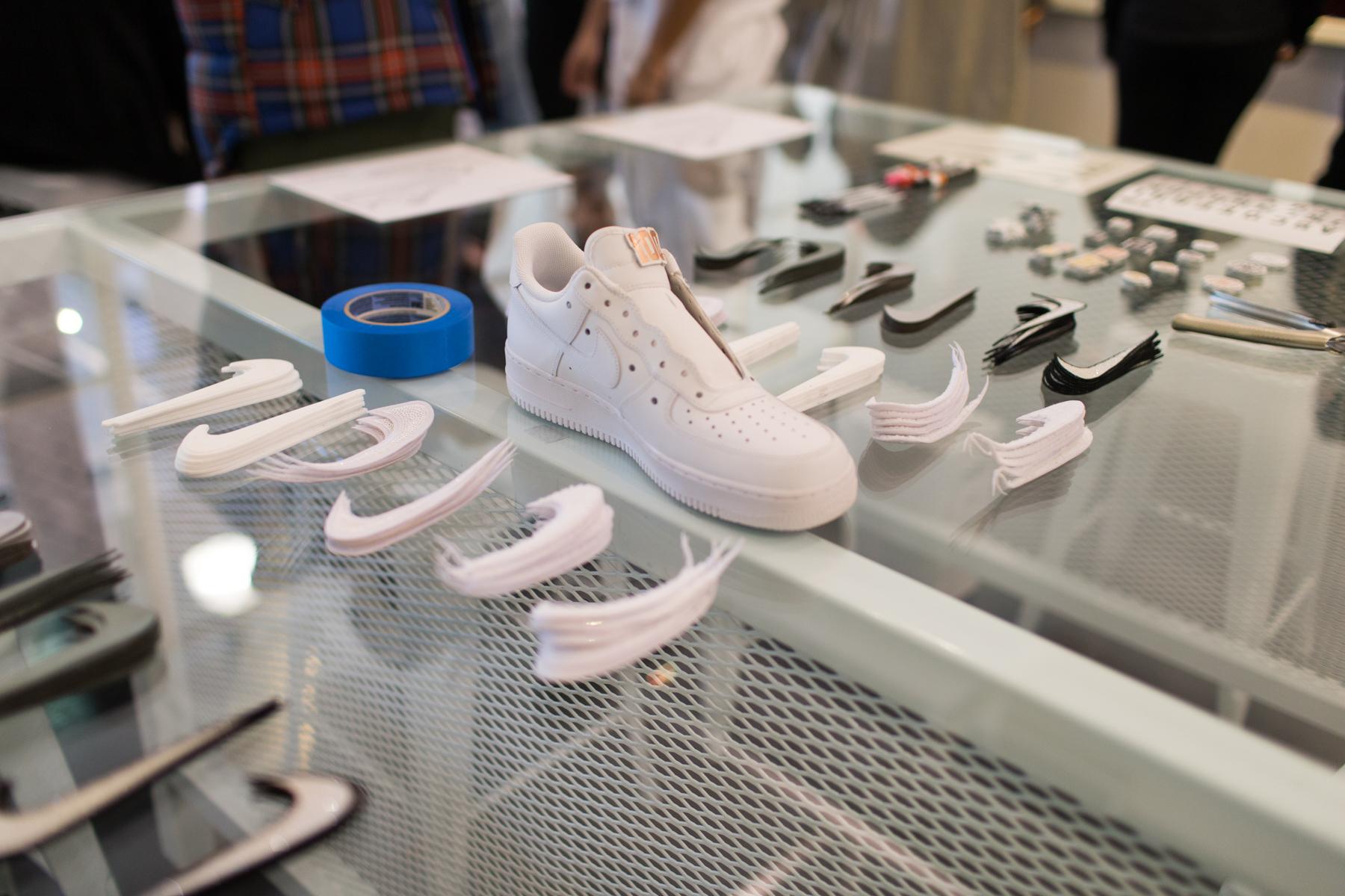 propiedad Detenerse pureza  Event Recap: Leave Your Own Impression at Nike AF-100 Gallery ...
