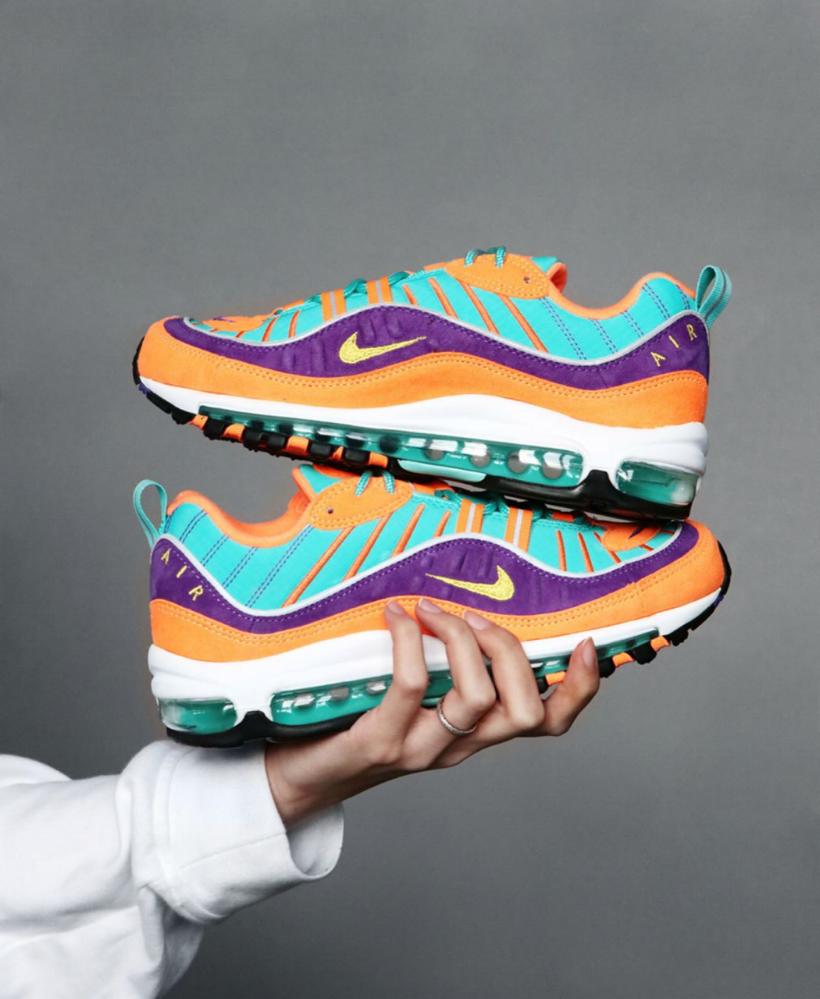 The Nike Air Max 98 Rocks An Outburst