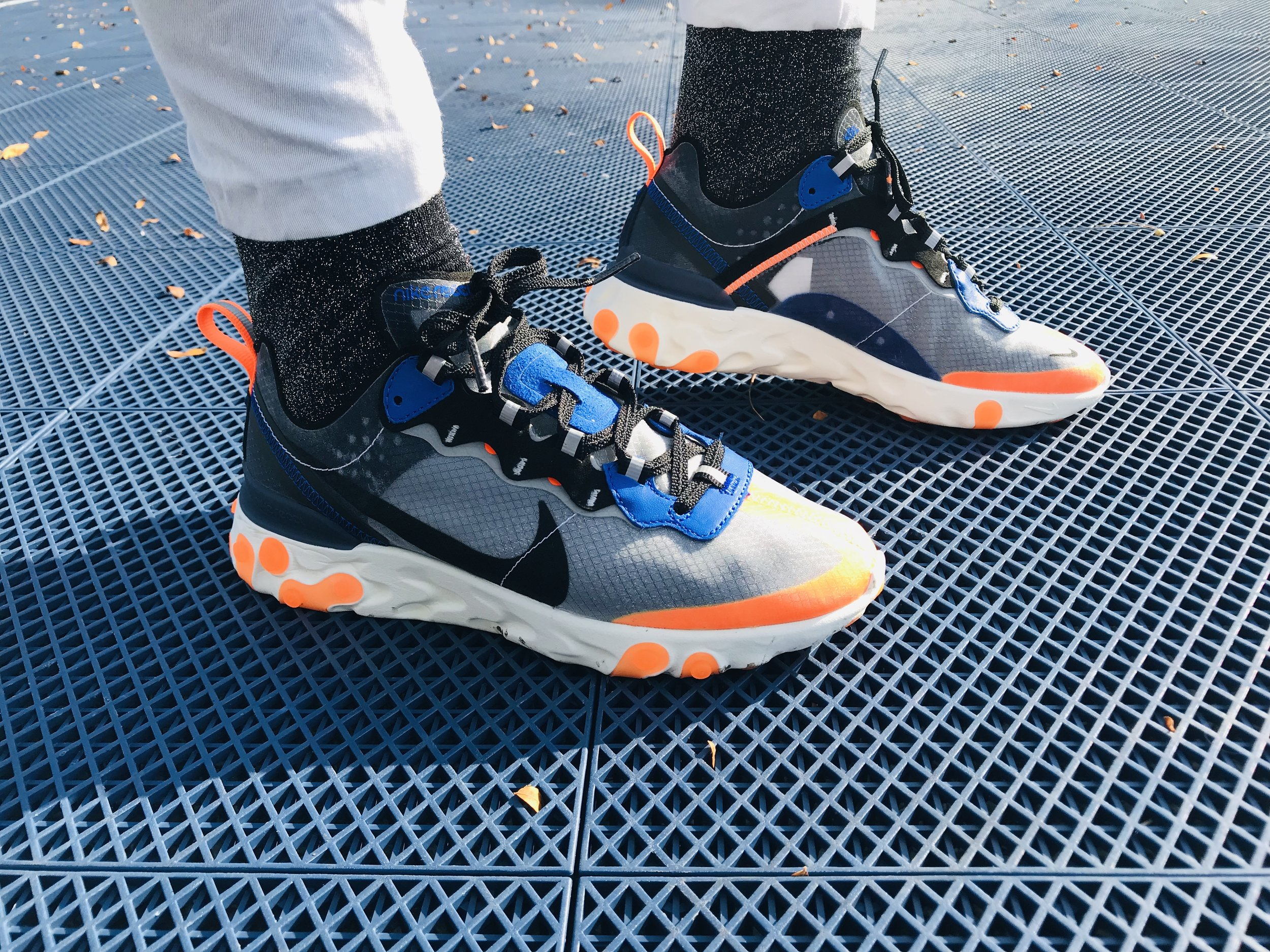 Socks With The Nike React Element 87