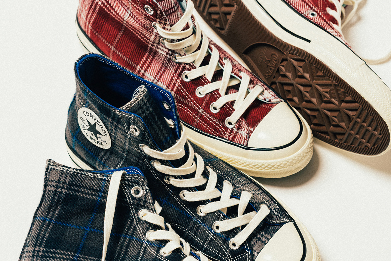 Converse Chuck 70 'Elevated Plaid' Pack