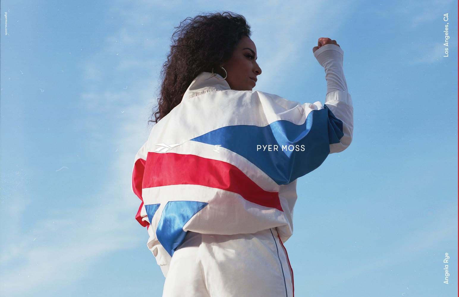 Angela Rye for Pyer Moss Fall 2018. Photo: Rubberband and Kerby Jean-Raymond