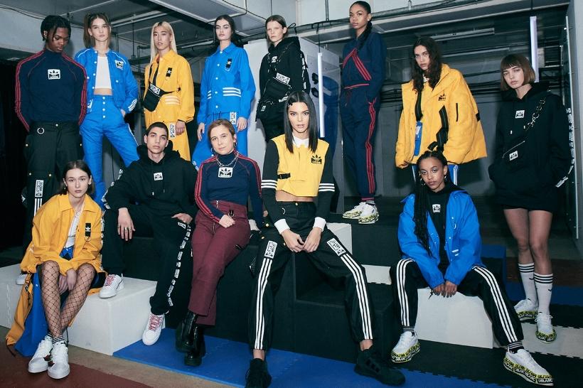 Adidas Originals and Olivia Oblanc Just