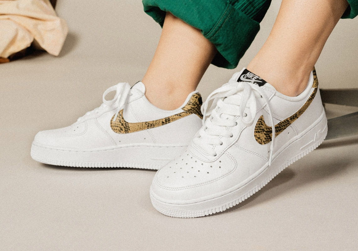 2d701d8a62 The '96 'Ivory Snake' Nike Air Force 1 Returns — CNK Daily ...