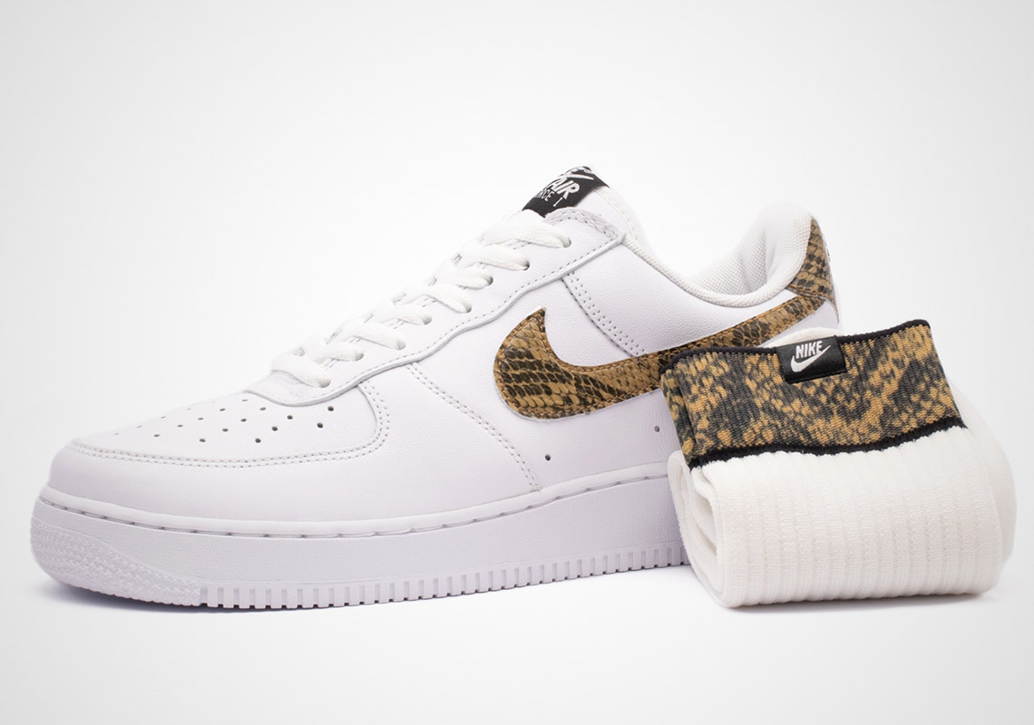 The '96 'Ivory Snake' Nike Air Force 1