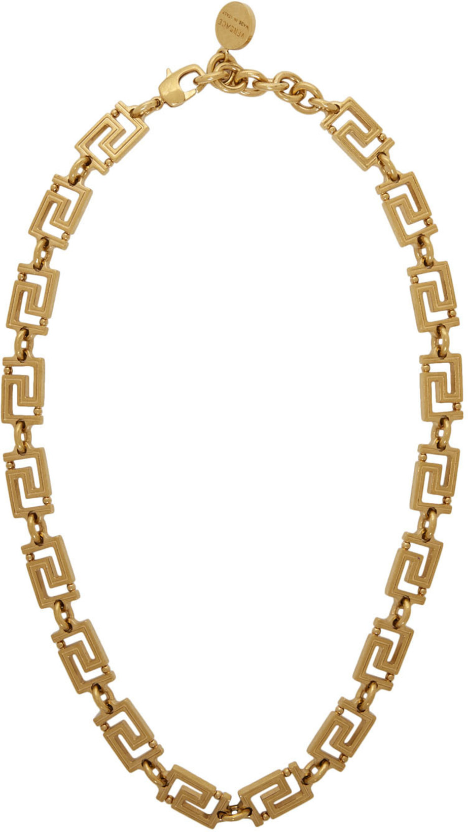 VERSACE - Gold Empire Chain Necklace$228 USD