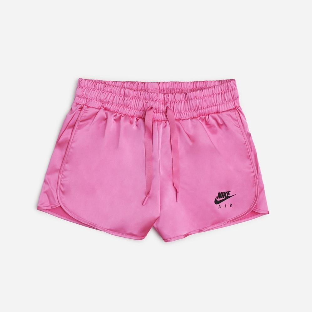 cnk-nike-air-satin-shorts-pink