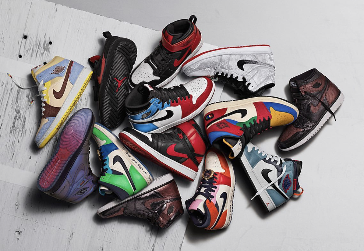 Wish List: Jordan Brand Debuts a Fearless Collection of AJ1s ...