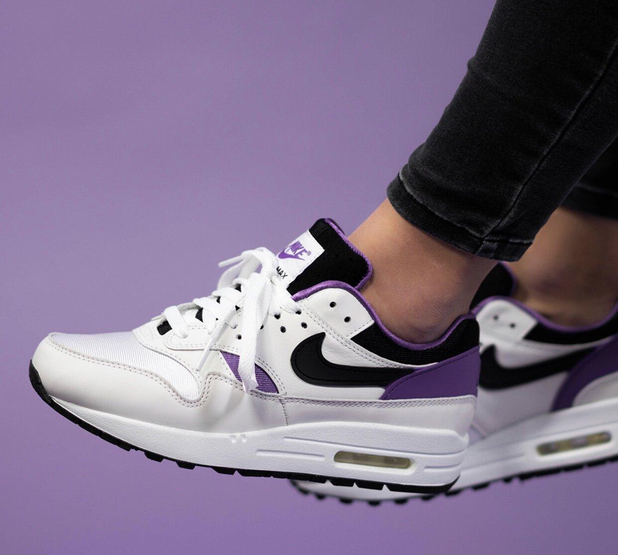Bigote vertical Un pan  Wish List: Nike Air Max 1 DNA in 'Purple Punch' — CNK Daily (ChicksNKicks)