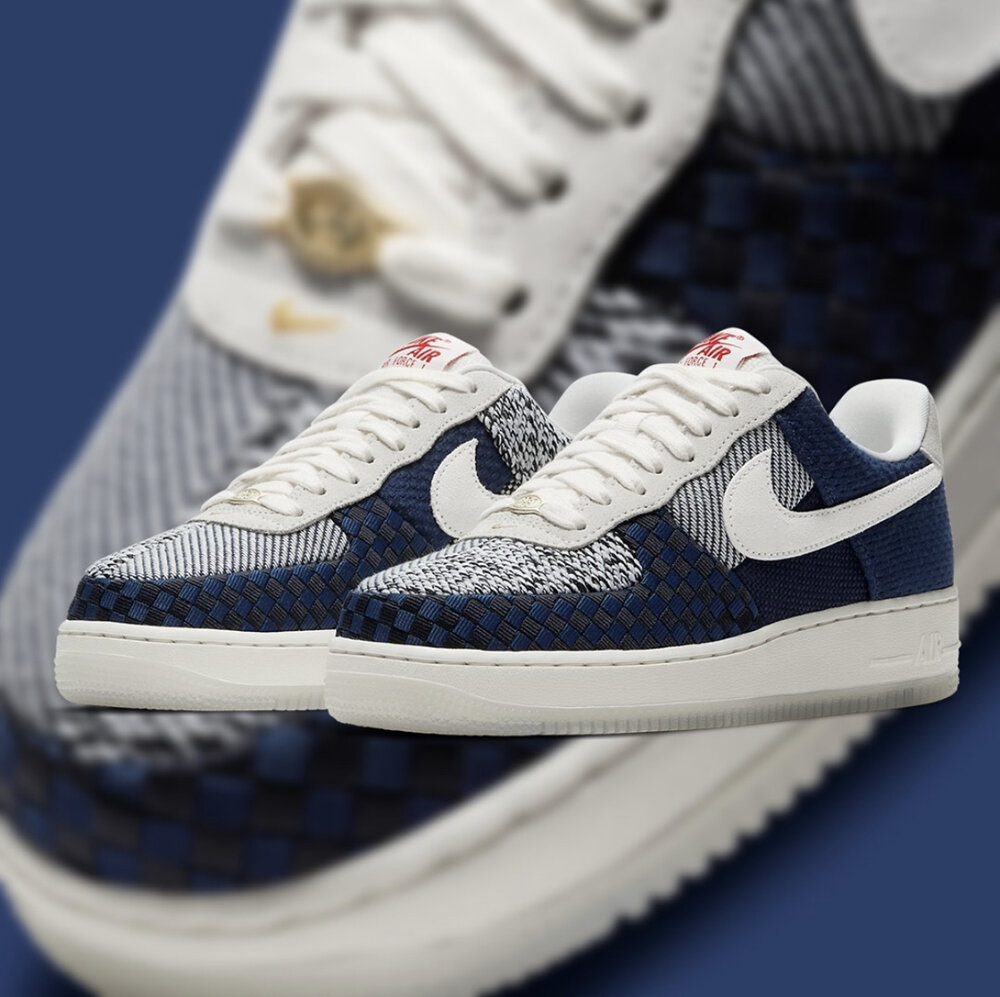 WMNS Air Force 1 'Sashiko'   First Look — CNK Daily (ChicksNKicks)