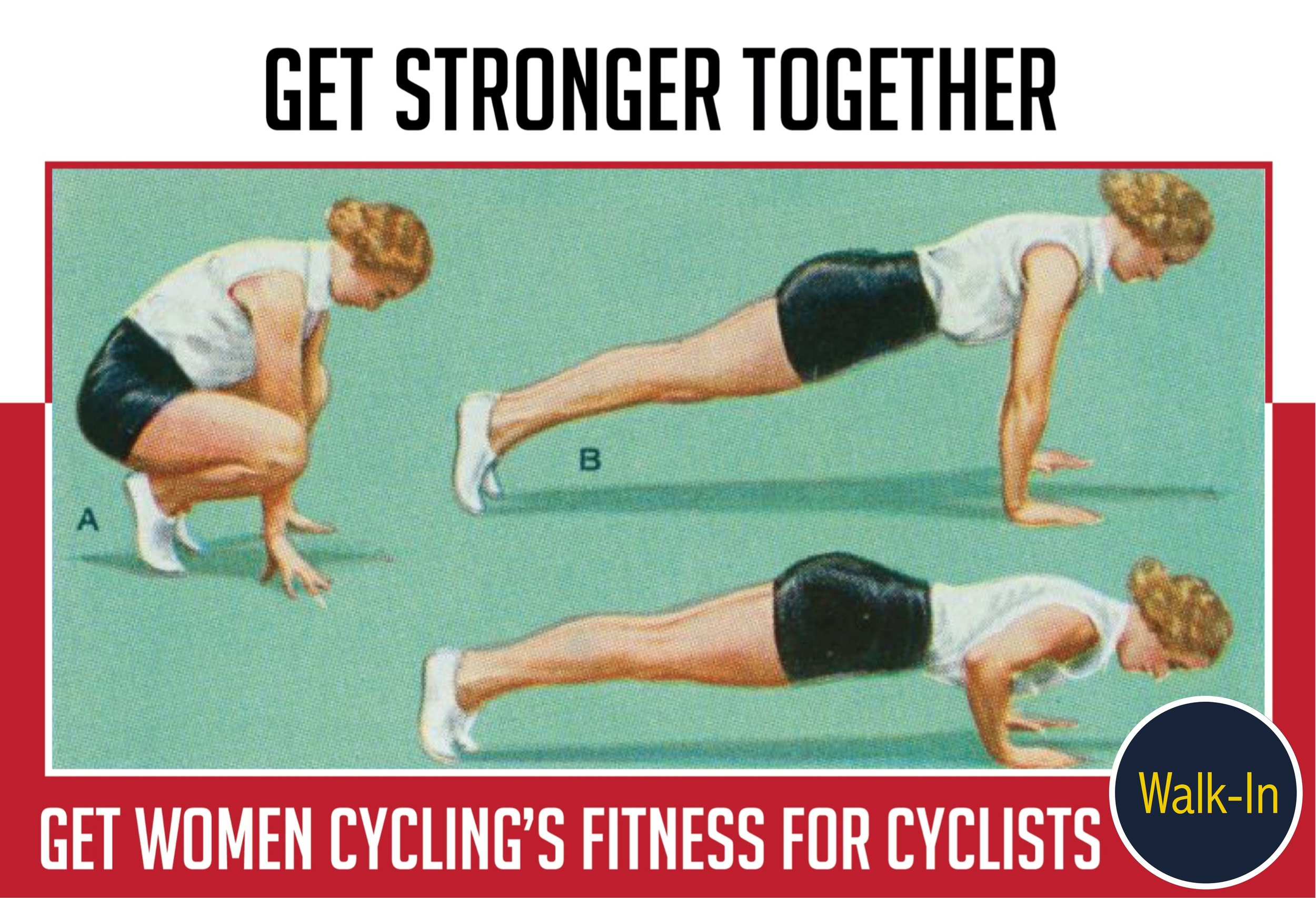Fitness For Cyclists Walk-in