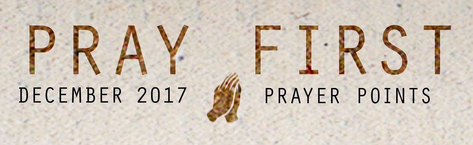 PRAY FIRST DEC 2017 title.jpg