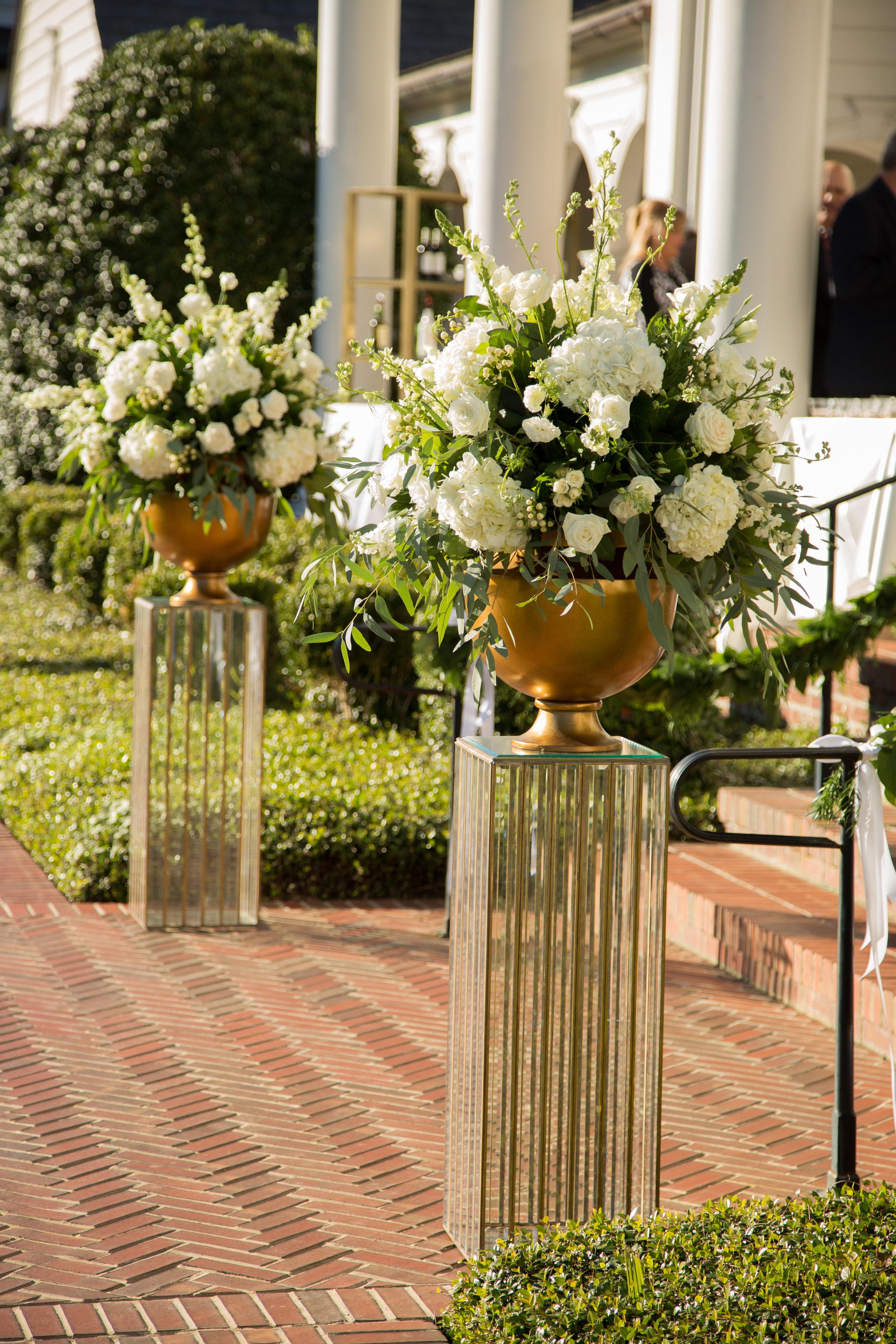 Wedding White Flower Arrangement