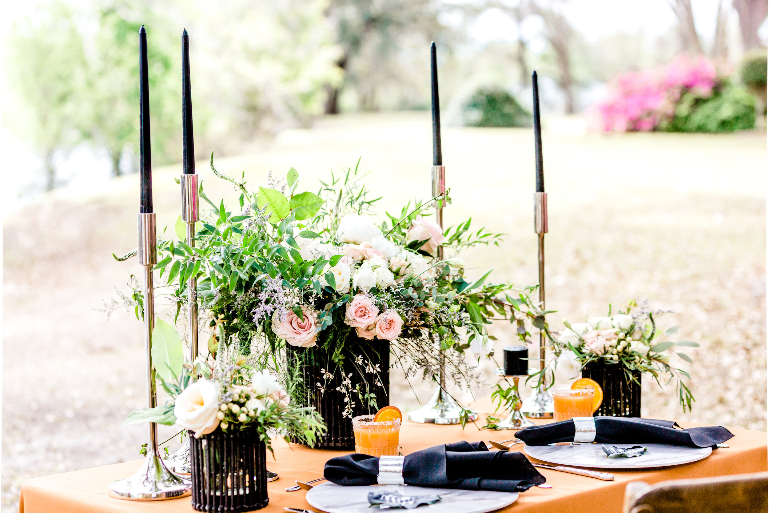 Black & Copper Table Setting.jpg