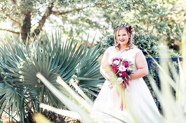 Happy Birthday to #ebsbride, sweet McKenzie! _ _ We were obsessed with her rich colored florals! Let's not forget her precious floral crown.  _ _ Hope you get all the puppy kisses today!  _ _ #happybirthday #bride #bridalportrait #floralcrown #bridebouquet #myrtlebeachwedding #charlestonwedding #southernbride #southernwedding #wedding #destinationwedding #ebs #eventsbysantana #weddingplanner #myrtlebeachweddingplanner