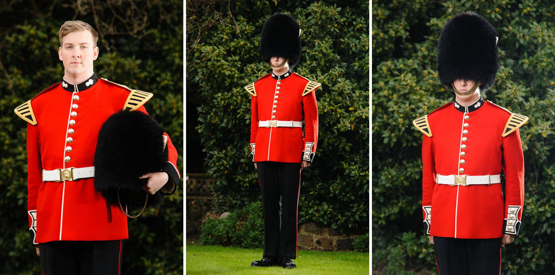 Coldstream Guards Portrait