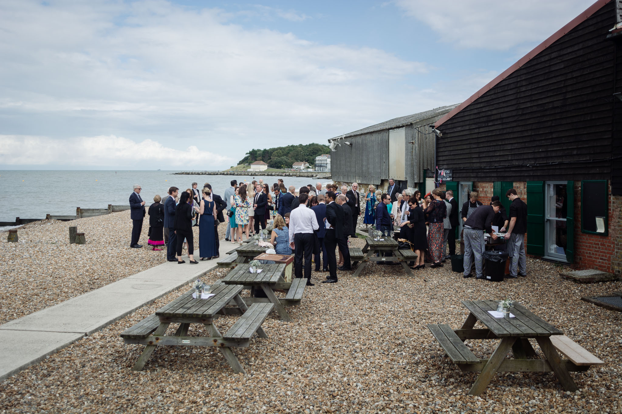 East Quay Lobster Shack Wedding-60