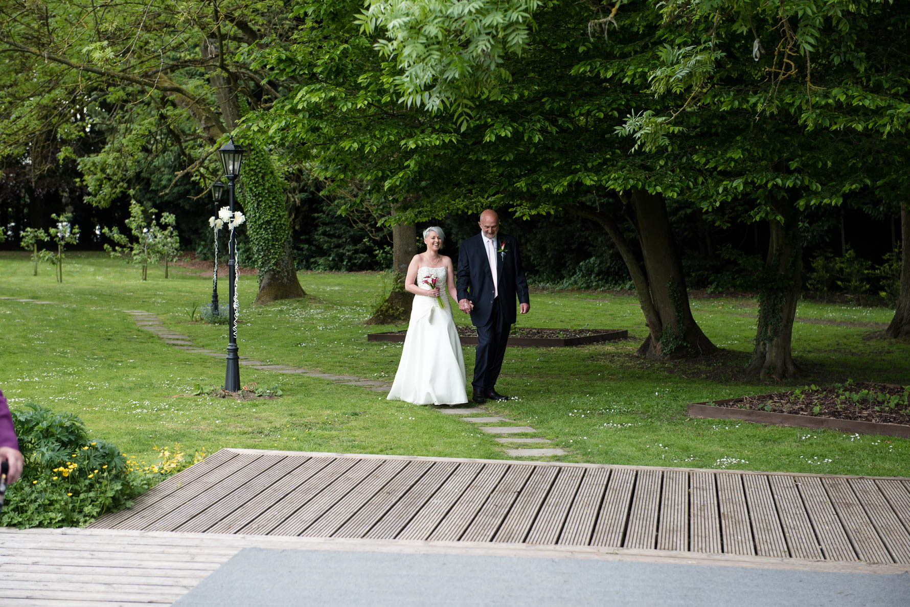 Sarah and Dave at Howfield Manor-3